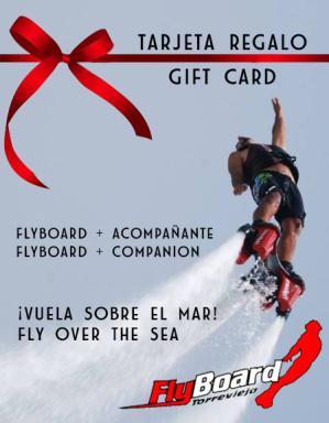 flyboard, torrevieja, regalo, actividades, volar sobre el agua, mar,