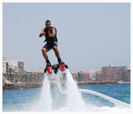 Regalo original Flyboard