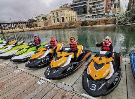 Alquiler de motos de agua Torrevieja