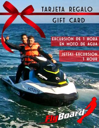 Tarjeta regalo Moto de Agua Torrevieja
