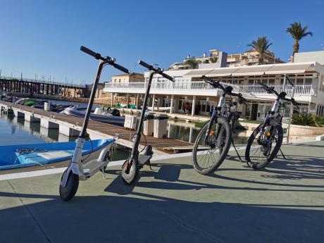 Alquilr bicicletas y patines eléctricos