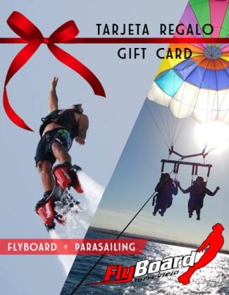 Tarjeta Regalo Flyboard y Parasailing en Torrevieja