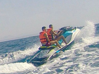 jetski Torrevieja moto de agua Campoamor