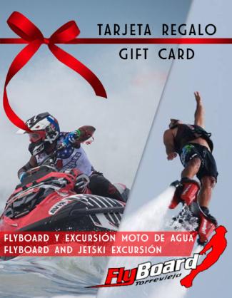 Tarjeta regalo Jetski y Flyboard Torrevieja