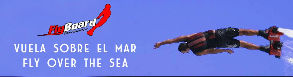 Flyboard Torrevieja Vuela Sobre el Mar